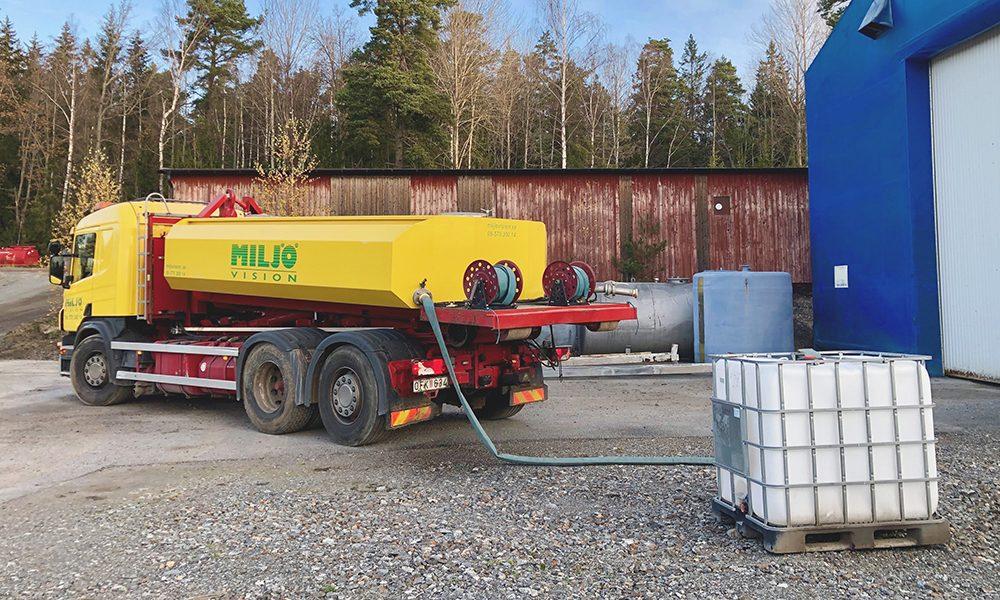 köpa vatten tankbil